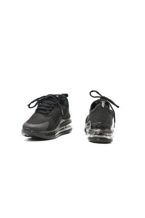 poulaine Siyah Rahat Air Taban Unisex Mevsimlik Spor Sneakers 2