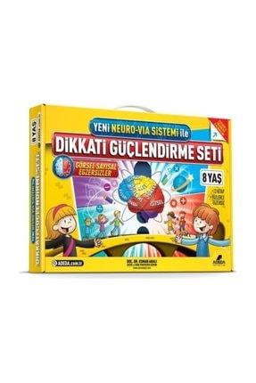 Adeda Yayınları Dikkati Güçlendirme Seti 2. Sınıf 8 Yaş Osman Abalı 0