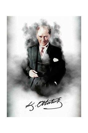 mağazacım Atatürk Takım Elbiseli Portre 50 Cm X 70 Cm Kanvas Tablo Tbl1196 2