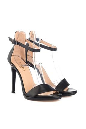 Soho Exclusive Siyah Kadın Klasik Topuklu Ayakkabı 14530 3