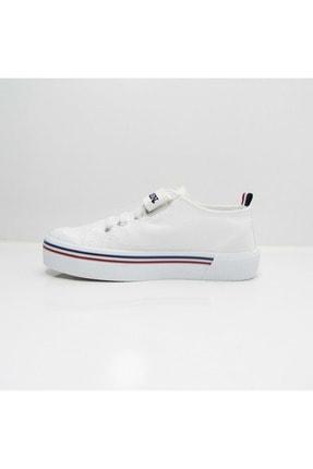 US Polo Assn PENELOPE 1FX Beyaz Erkek Çocuk Sneaker 100910628 1