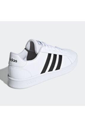 adidas Grand Court Beyaz Erkek Çocuk Sneaker Ayakkabı 2