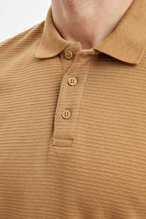 Defacto Regular Fit Polo Yaka Basic Kısa Kollu Tişört 2