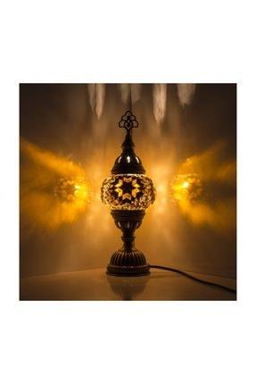 Mozaik Lamba Dekoratif Lamba Osmanlı Masa Lambası KRLP00241