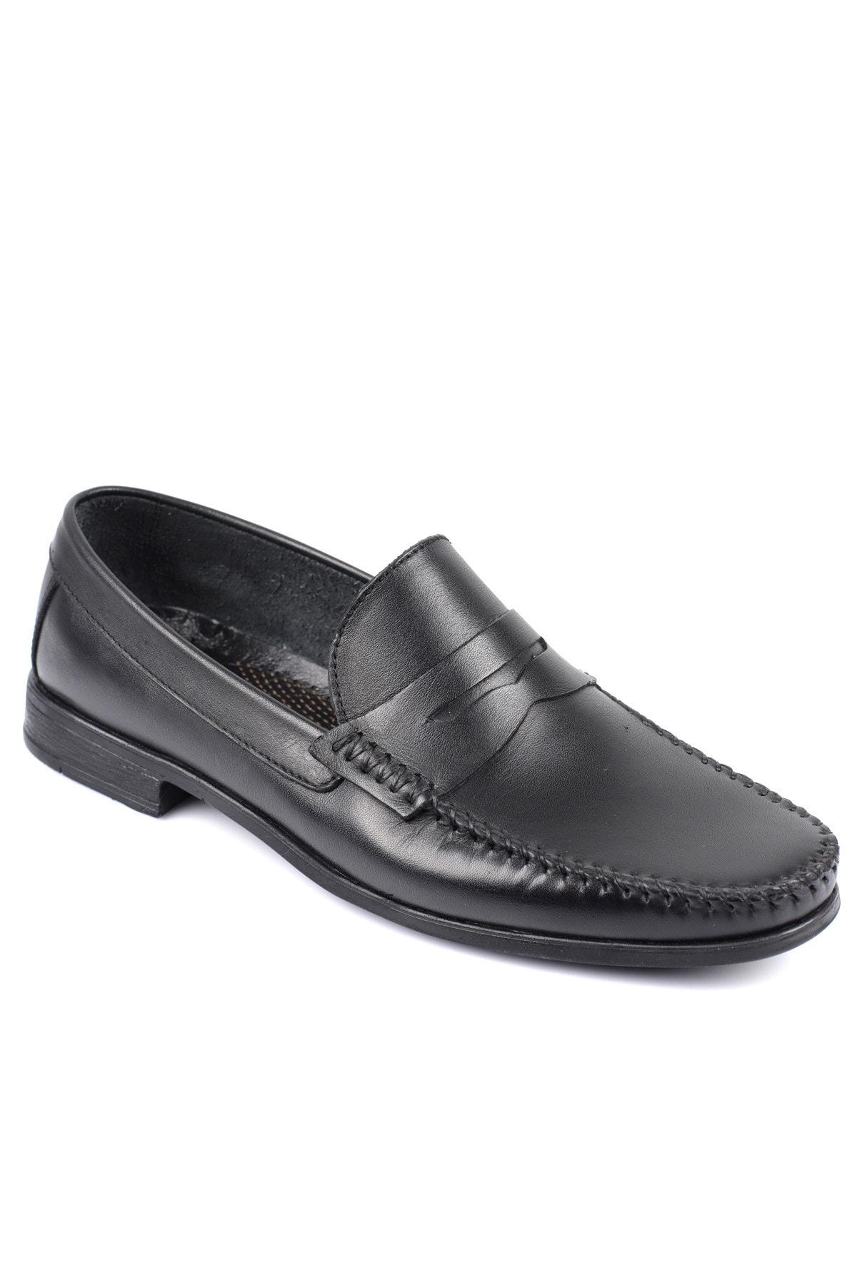 Daxtors D10180 Günlük Klasik Hakiki Deri Baba Ayakkabısı 1