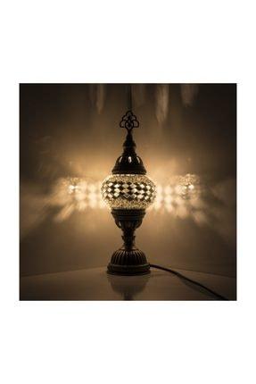 Mozaik Lamba Dekoratif Lamba Osmanlı Masa Lambası KRLP00243