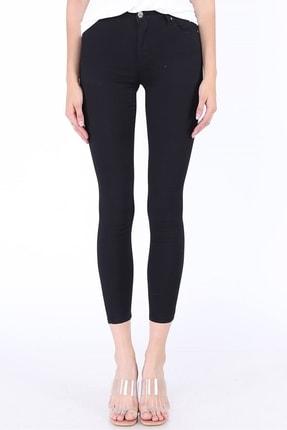 Eva Kadın Likralı Siyah Pantolon 9028-65 resmi