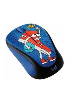 logitech M238 Kablosuz Mouse Doodle Sneaker Head 1