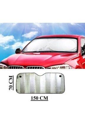 Ankaflex Araba Ön Cam Güneşlik Oto Ön Cam Folyolu Katlanabilir Güneşten Koruyucu Perde Güneşlik 150 X 70 Cm 2