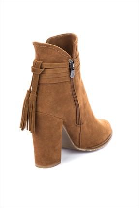 Fox Shoes Taba Kadın Bot A922803902 2