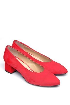 Shoes Time Kırmızı Kadın Topuklu Ayakkabı 19Y 2202 1