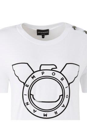 Emporio Armani Kadın T-Shirt 2