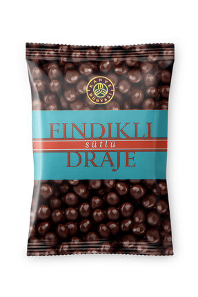 Kahve Dünyası Fındıklı Draje Sütlü Çikolatalı 200 gr 0