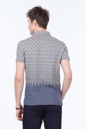 Ramsey Jakarlı Örme T-Shirt - RP10113773 3