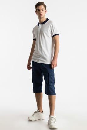 Ltb Erkek  Beyaz Polo Yaka T-Shirt 012198452060880000 3