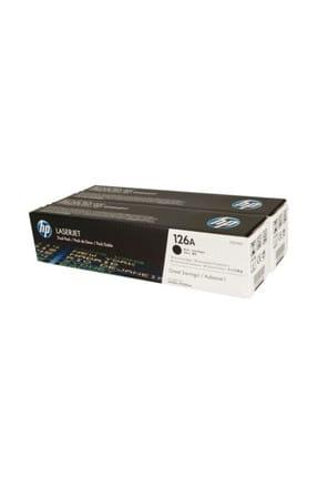 HP 126A 2'Li Paket 1200 Sayfa Kapasiteli Siyah Toner Ce310Ad 0