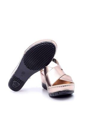 Derimod Platin Rengi Kadın Sandalet 4