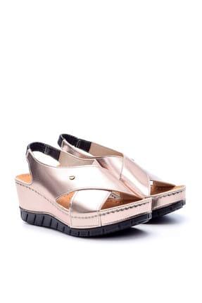 Derimod Platin Rengi Kadın Sandalet 2