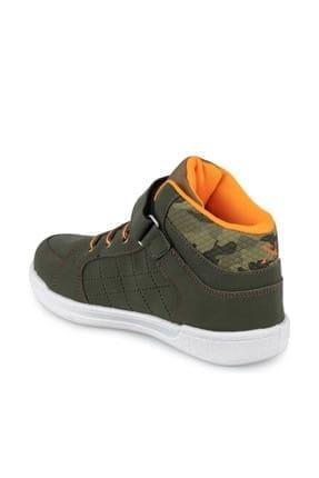 Kinetix LENKO HI C 9PR Haki Erkek Çocuk Sneaker Ayakkabı 100425851 1