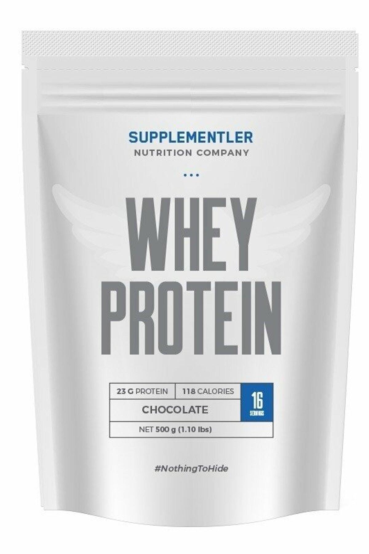 Supplementler .Com Whey Protein 500 Gr - ÇİKOLATA 0