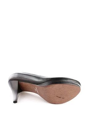 Dgn Siyah Kadın Klasik Topuklu Ayakkabı 714-148 3