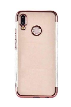 Happyshop Samsung Galaxy M10 Kılıf 4 Köşe Renkli Şeffaf Laser Silikon+Nano Cam Ekran Koruyucu 0
