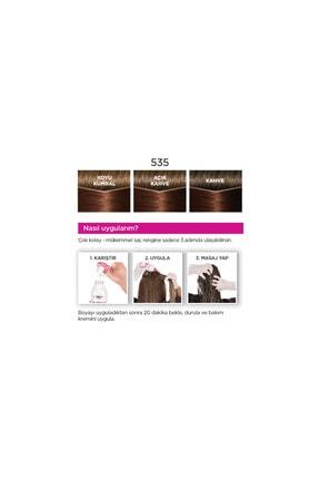 L'Oreal Paris Casting Creme Gloss 535 Sıcak Çikolata   Saç Boyası - 3600523302949 4