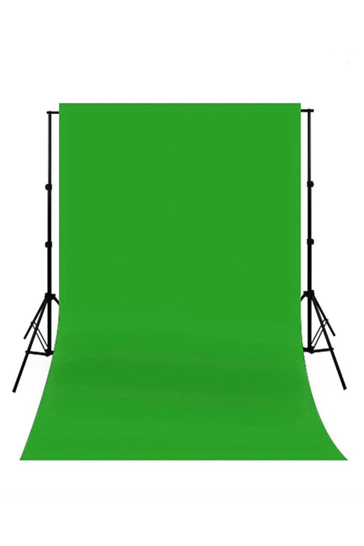 Chromakey- Green Screen Greenbox Yeşil Fon Perde(3 x 3 m)
