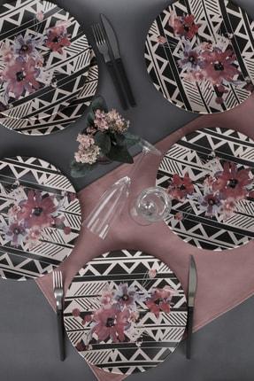 Keramika Leylak  Servis Tabağı 25 Cm 6 Adet - 18231 0