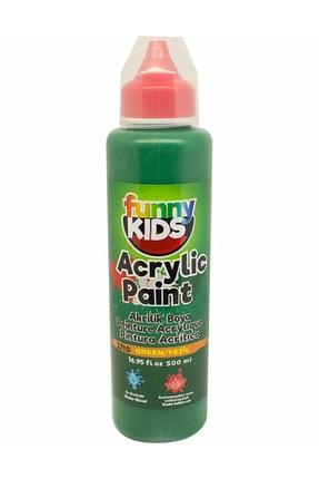 Rich Funny Kids Akrilik Boya 500ml - 2710 Yeşil 0
