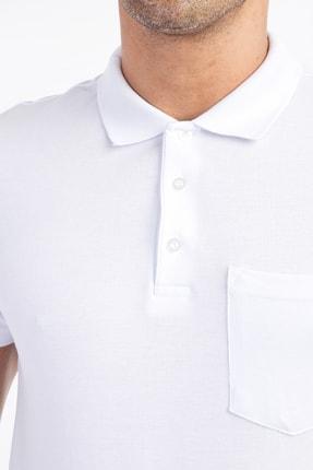 Kiğılı Polo Yaka Süper Slim Fit Tişört 0