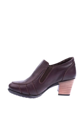 Mammamia Kahverengi Kadın Topuklu Ayakkabı 2