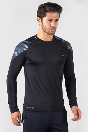 Sweatshirt | Koşu Sweatshirt | Erkek Koşu Sweatshirt MMAW1816347SWS001-DARKBLUE-GRİ-