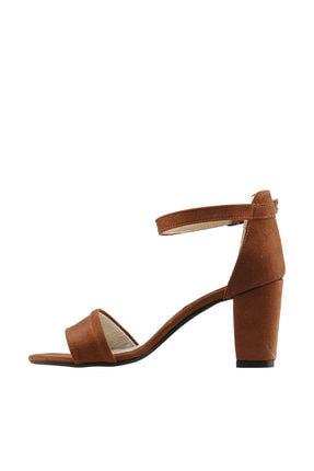 Ayakland Kahverengi Kadın Topuklu Ayakkabı  19YAYAYK0000075 1