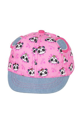 تصویر از 0-18 Aylık Kız Sapka Pembe Şapka