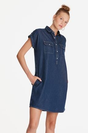 Mavi Kadın Barbara Lux Touch Lyocell Jean Elbise 130548-28636 1