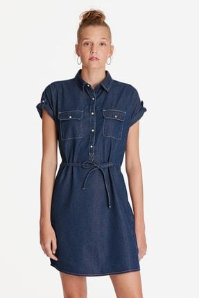 Mavi Kadın Barbara Lux Touch Lyocell Jean Elbise 130548-28636 3