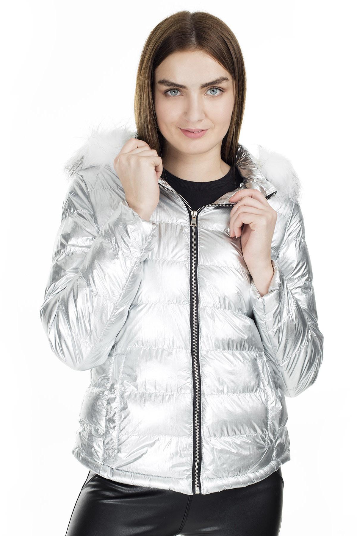 Fashion Friends Kapüşonlu Mont KADIN MONT 9K1618 2