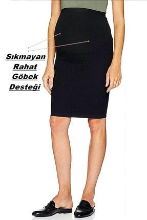Akdağ Sportswear Seamless ( Dikişsiz ) Rahat Esnek Hamile Etek 3