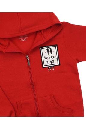 E.R.D Kids Kırmızı Kız Çocuk Sweatshirt 2