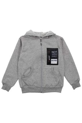 E.R.D Kids Gri Erkek Çocuk Sweatshirt 0