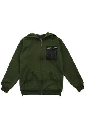 E.R.D Kids Yeşil Erkek Çocuk Sweatshirt 0