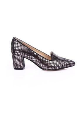 Dgn Çelik Petek Kadın Klasik Topuklu Ayakkabı 2
