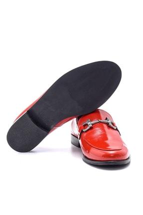 Derimod Hakiki Deri Kırmızı Kadın Ayakkabı 3