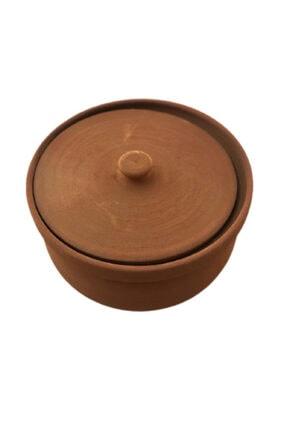 ALİ BABA CÖMLEK Pişirilmiş Turuncu Toprak Orta Güveç 5-6 Kişilik 3