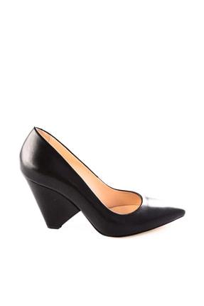 Dgn Siyah Kadın Klasik Topuklu Ayakkabı 5264-1242 0