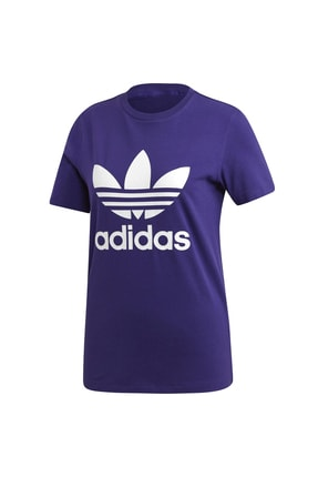 adidas Kadın Originals T-shirt - Trefoil Tee - ED7497 4