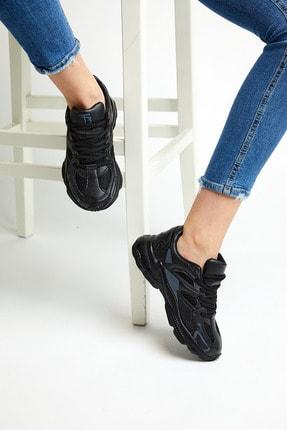 Tonny Black Siyah Unisex Sneaker TB252-0 2