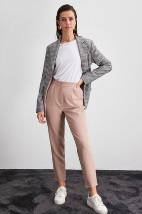 TRENDYOLMİLLA Taş Yüksek Bel Pantolon TWOAW20PL0172. 1