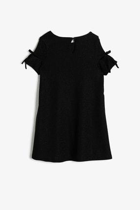 Koton Siyah Kız Çocuk Elbise 1